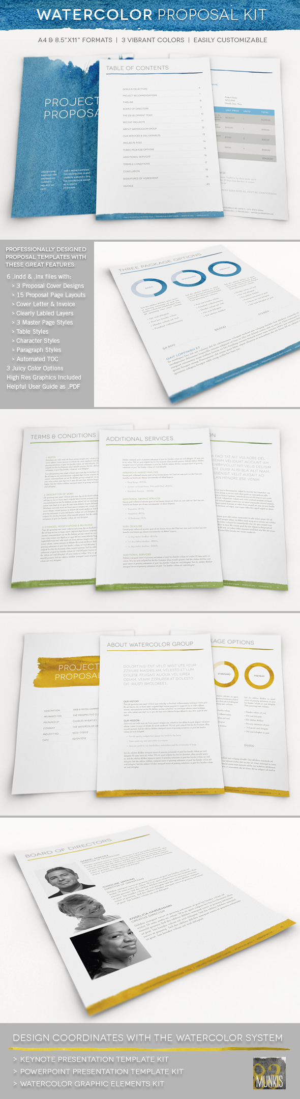Doc550407 Proposal Layouts 40 Profesional Business Projects – Proposal Layouts
